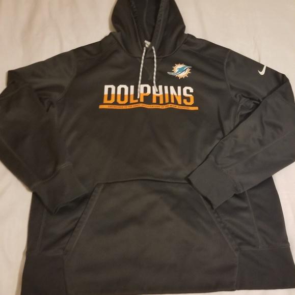 miami dolphins nike sweatshirt
